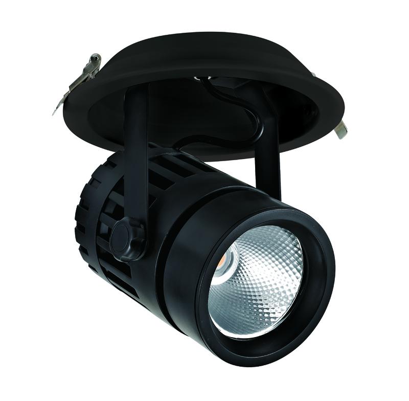 30W Adjustable LED Track light for shop showcase