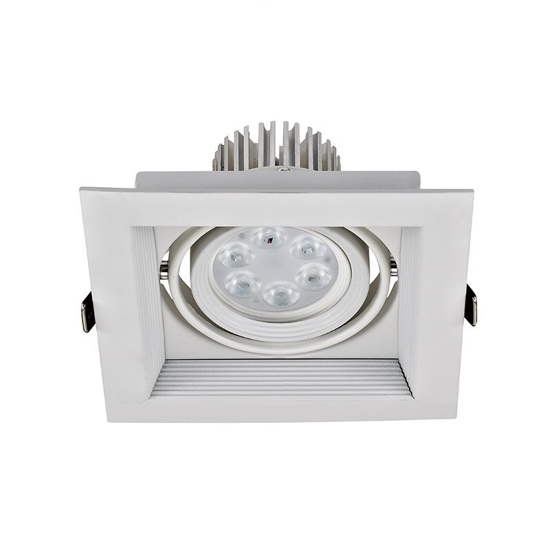 Grille led light with white color
