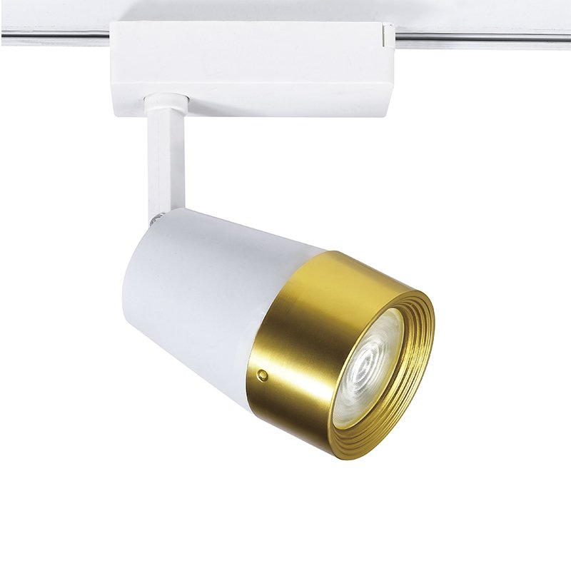 LED Track light with golden color fashion look