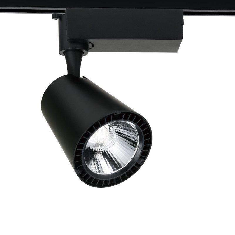 black LED Track Light  with 10w 20w 30w