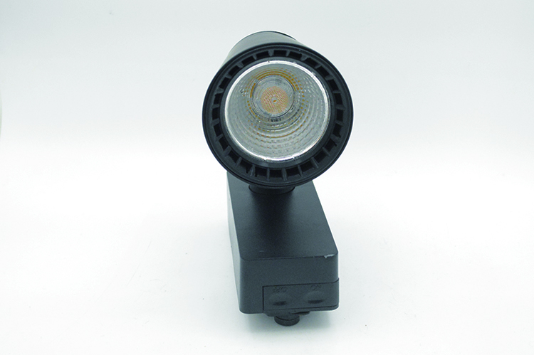 black LED Track Light  with 10w 20w 30w